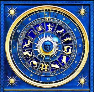 Blue Astro Chart