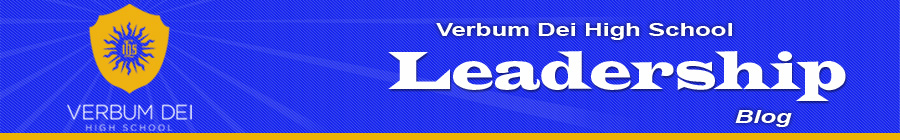 verbum Dei High School Leadership Blog